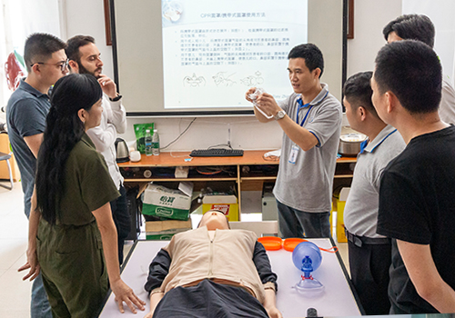 Product Training for BVM and CPR Mask