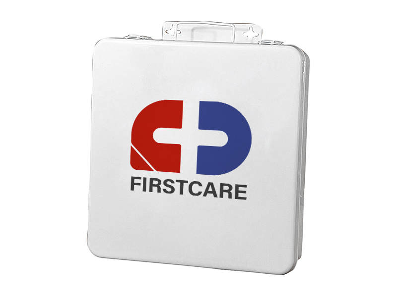 24 Unit Standard Metal First Aid Box