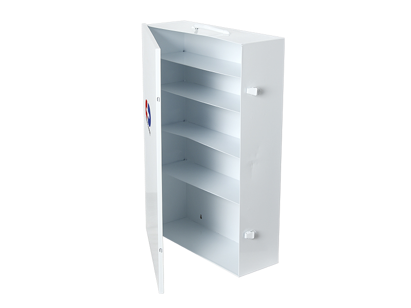 5 shelf Large Metal First Aid Cabinet
