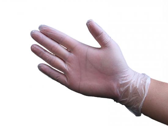 Clear Disposable Vinyl Gloves