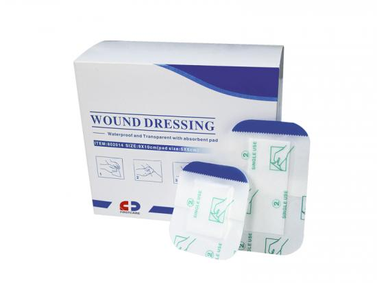 transparent wound care dressing
