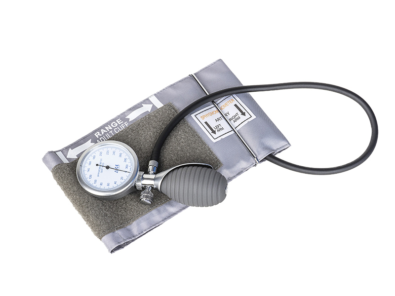 Palm Style Aneroid Blood Pressure Monitor