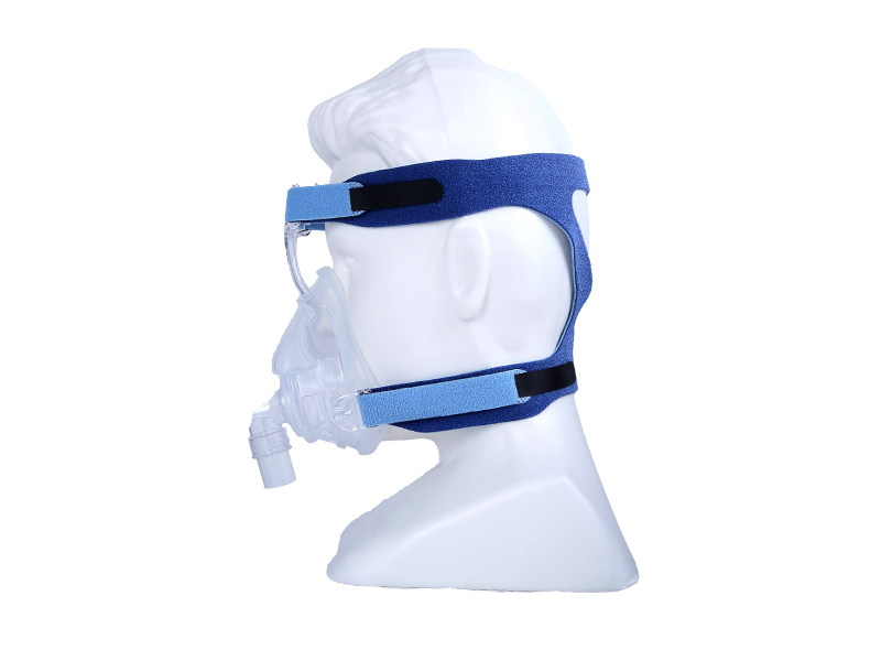 Reusable Silicone Full Face CPAP Mask for Sleep Apnea
