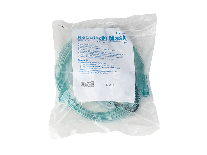 Disposable Aerosol Mask with Nebulizer and Tube