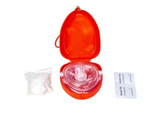 CPR mask with one way valve