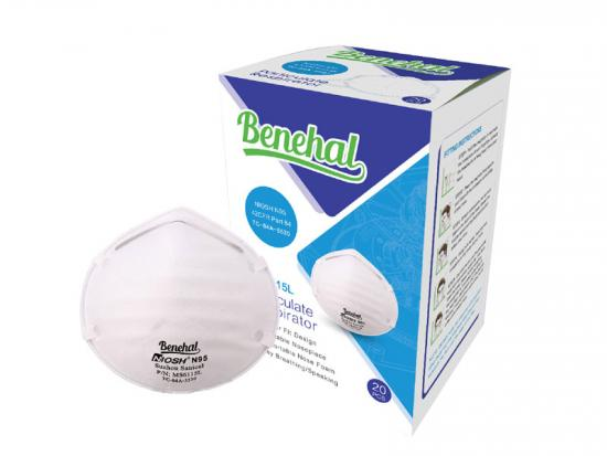 Disposable N95 Particulate Respirator