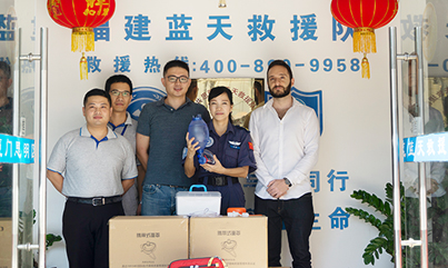FirstCare Donates EMS Kits to Blue Sky Rescue